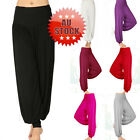 Womens Clothing Trouser Harem Cotton Boho Yoga Pant Beautiful Casual  Pants