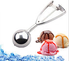 Stainless Steel 4/5/6cm Ice Cream Scoop Cookie Mash Muffin Spoon Kitchen Tool