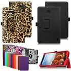 20 Colors Folio Leather Case Cover for Verizon Ellipsis 8 4G LTE 8-inch Tablet