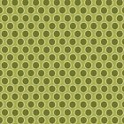 GREEN - WALKABOUT DOT by MAKOWER 100% COTTON FABRIC PATCHWORK