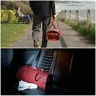 ELVIS & KRESSE [UK] Firehose & Parachute Silk Duffle Gym Overnight Weekend Bag