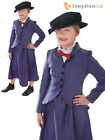 Kids Victorian Mary Nanny Chimney Sweep Fancy Dress Costume Book Day