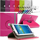 "360 Rotating Leather Case Folio Cover For Archos Android Tablets 7"" 8"" 9"" 10.1"""