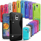S-Line Gel Case Cover Wave Grip Pouch Back For Nokia Various Phone Models