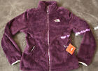 NWT North Face Women's Suple Jacket Coat Sweater Velvet Purple Sz M L XL Osito