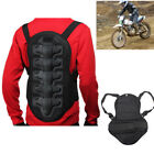 Multifunction Motorcycle Biker Race Back Protector Molded Spine Vest Armor S M L