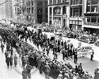 1934 Worker's May Day Parade New York Photo 5th Ave Largest Sizes