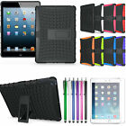 Heavy Duty Shockproof Hybrid Silicone Hard Stand Case Cover For Apple iPad Air 5