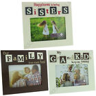 PHOTO PICTURE FRAME 6 X 4 GIFT FAMILY MESSAGE POEM STAND HOME FRIENDS SENTIMENT
