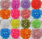 Lots50Pcs Acrylic Cat Eye Jewelry Findings Charm Round Spacer Loose Bead DIY 8mm