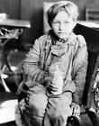 1931 Kentucky Red Cross Depression Era Photo Boy at Lunch Largest Sizes
