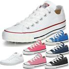 Boys, Girls Converse All Star Low Youth OX Plimsolls Trainers Shoes Pumps Size