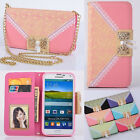 Beautiful Wallet Card Holder PU Leather Flip Case Cover For Samsung Galaxy