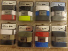NEW NIKE 3 IN 1 WEB PACK GOLF BELT - One size fits all up to 42 - Mult Colors