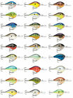 Rapala Dives-To Dt10 Balsa Wood Crankbait Bass Fishing Lures - 2 1/4