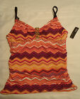 a.n.a Side Shirred Swim Tankini Swimsuit Top Choice Size 6 8 or 10 NWT Swimwear