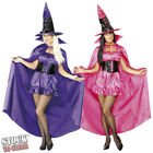 HALLOWEEN FANCY DRESS# SEXY WITCH CAPE PINK / PURPLE (CAPE ONLY)
