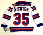 MIKE RICHTER NEW YORK RANGERS 1994 STANLEY CUP REEBOK NHL PREMIER JERSEY