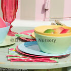 TUTTI FRUTTI MELAMINE TABLEWARE -Everyday, Picnic, Camping, Party, Children, BBQ