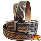 HILASON HANDMADE HEAVY DUTY WESTERN WORK LEATHER MENS GUN HOLSTER BELT