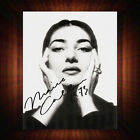 Maria Callas - Re-Pro Signed Autographed Framed Photo/Canvas Print