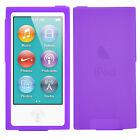 TRIXES Soft Silicone Skin Grip Case for Apple iPod Nano 7