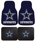 Dallas Cowboys NFL Floor Mats 2 & 4 pc Sets for Cars Trucks & SUV's on eBay