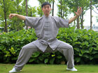 Spring & Summer Hand-made Short Sleeve Tai Chi Uniform Linen Kung Fu TaiJi Suits