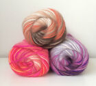 NAKO MOHAIR EBRULI MOHER SPECIAL SELF STRIPING KNITTING CROCHET WOOL YARN 100G