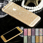 BLING FULL BODY VINYL GLITTER DECAL WRAP KIT STICKER SKIN COVER for iPHONE 6