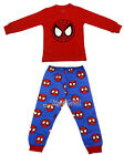 Spiderman Children Kids Boys Pajama Nightwear Outfit Top + Trouser Sleepwear 2-7