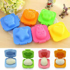 Cute 2 6Pcs Boiled Egg Sushi Rice Mold Bento Maker Sandwich Cutter Decorating