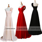 Wedding Party Evening Prom Dresses One-Shoulder Long Bridesmaid Mother Gown 2015