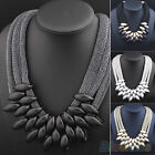 Womens Ethnic Style Retro Statement Collar Choker Clavicle Necklace Pendant Gift