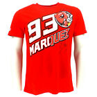 Marc Marquez 93 The Ant Cartoon Moto GP T-shirt Red Official 2016
