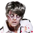 ADULTS ZOMBIE GUY WIG HALLOWEEN SCARY UNDEAD GHASTLY HAIR FANCY DRESS ACCESSORY