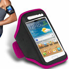 NEW FOR SPORTS RUNNING GYM ARMBAND STRAP CASE COVER FOR VARIOUS MOBILE PHONES
