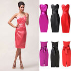 Free Ship Formal Short Women Prom Evening Party Bridesmaid Wedding Dress 12 16 ~