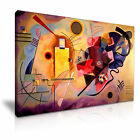 Yellow Red Blue ~ Wassily Kandinsky Canvas Modern Wall Art Home Deco 9 size