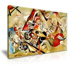 Wassily Kandinsky Abstract Canvas Modern Wall Art Home Deco 9 size