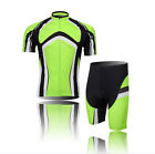 Cycling Bike Outdoor Short Sleeve Clothing Bicycle Sports Jersey Shorts Set