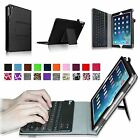 Removable Bluetooth Keyboard Folio Leather Case Cover for 2014 Apple iPad Air 2