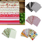 Bundle 45x45cm Big Remnants Offcuts 100% Cotton Vintage Floral Dot Fabric Quilt