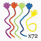 72pc Glitter Sticky Hands Party favors Candy bags Stuffer Arcade Prizes BULK