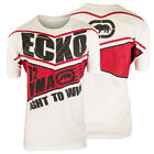 Ecko MMA Fight To Win T-Shirt (White/Red)
