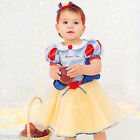 New Baby Toddler Disney Princess Snow White Fairytale Fancy Dress Costume Outfit