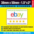 Ebay Stickers Ideal For Use With Integrated Address / Packing Labels / Envelopes
