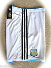 MEDIUM ADIDAS ARGENTINA HOME SHORTS CLIMACOOL Football Soccer Calcio NEW