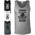 Training To Go Super Saiyan Athletic Vest - Dragon Ball Inspired Gym Tank Top