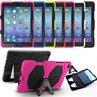Heavy Duty Shock Proof Armour Case Cover for Apple iPad 2 3 4 Ipad Mini 1 2 & 3